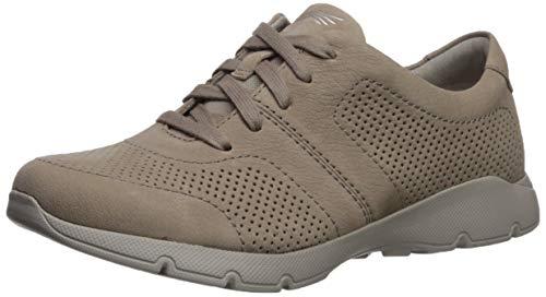 Dansko Women's Alissa Sneaker, Taupe Milled Nubuck, 41 M EU (10.5-11 US)