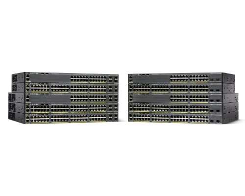 Cisco Catalyst 2960X-48TS-L 48 Port Ethernet Switch by Cisco