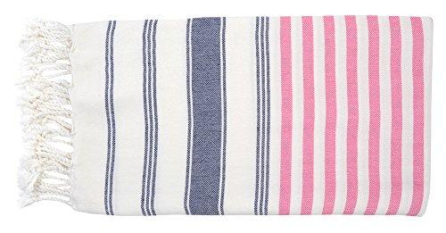 DEMMEX 2018 Ibiza Turkish Cotton Beach Towel Blanket, XXL 75