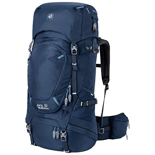 HIGHLAND TRAIL 45L WOMEN internal frame backpack with dual access and rain cover