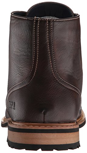 Assn Men's Boot Polo Toe Cap S Stuart Tall Chocolate U Tf7x1RWT