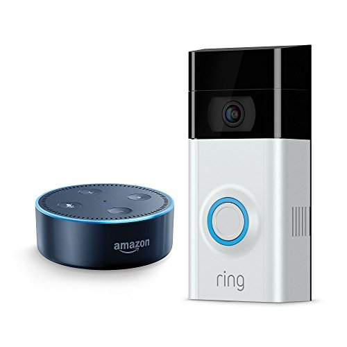 Price comparison product image Echo Dot - Black + Ring Video Doorbell 2