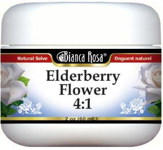 Elderberry Flower 4:1 Salve (2 oz, ZIN: 520026) - 3 Pack