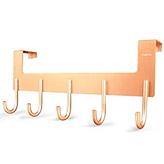 ACMETOP Over The Door Hook Hanger By, Heavy Duty Organizer For Coat, Towel