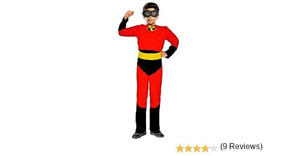 Disfraz Party Héroe niño infantil para Carnaval 4-6 años: Amazon ...