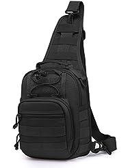 Mardingtop Tactical Sling Bag Molle Backpack Shoulder Daypacks for Hiking Military