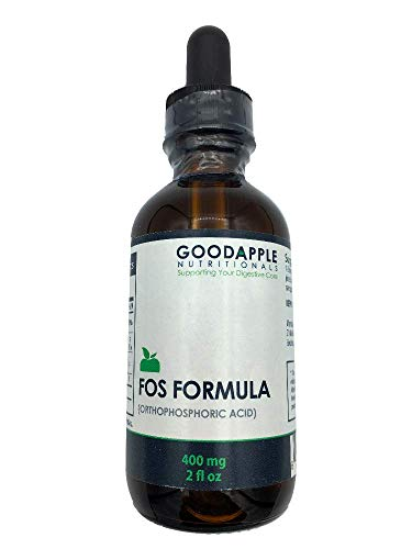 Orthophosphoric Acid   Fos Formula   Aids Digestion   Liquid Mineral Phosphorus   Supports Nausea Supports Bone Health Supports Cellular Metabolism for Energy   2-Ounce Liquid Bottle with Dropper