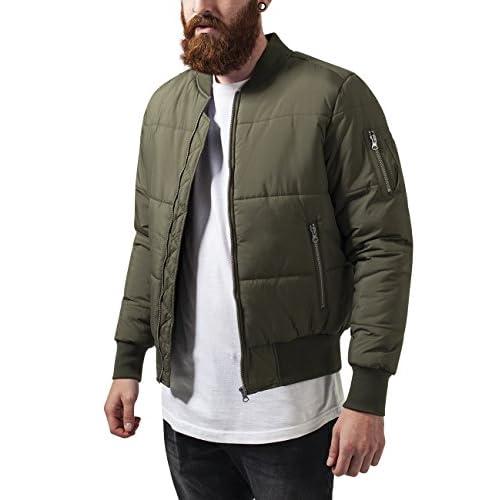 Urban Classics Basic Quilt Bomber Jacket e4bf40d68819