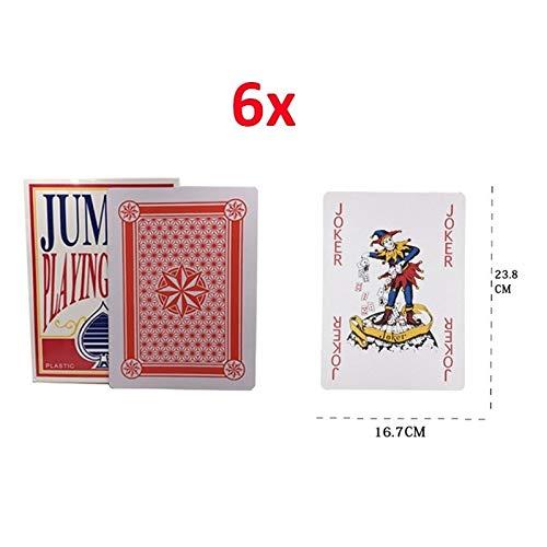 GHMOZ 8.4 × 12.3 Cm Al Aire Libre Juego Gigante Tarjeta De ...