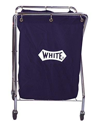 Impact 193-B Cart Collector Cart with 6 Bushel Nylon Pak Cloth Bag 14 Length x 26 Width x 36 Height Blue