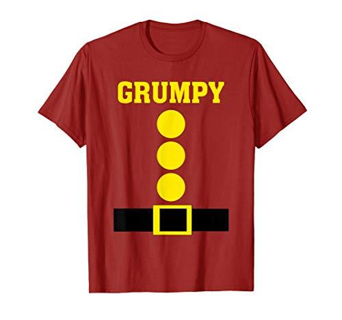 Dwarf Grumpy Costumes - Red Dwarf Costume Funny Lazy Halloween
