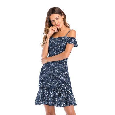 weisi - Jupe - Femme Bleu