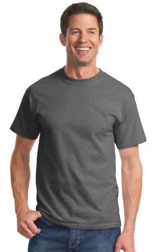 Port & Company Men's Essential T Shirt XL Charcoal from Port & Company