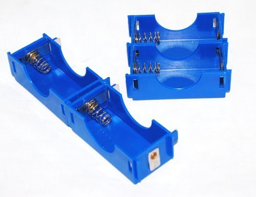 Pkg 4  D Cell Modular Battery Holders By American Science   Surplus