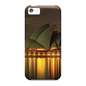 Hot Style PaAmT6563vnItS Protective Case Cover For Iphone5c(opera House Sydney)