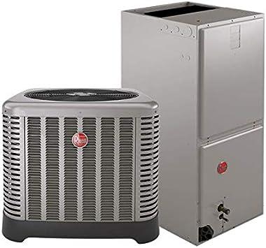 3 5 Ton 14 5 Seer Rheem Ruud Heat Pump System Amazon Com