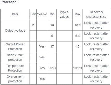 Bluelover 12V 5V Totalmente Aislados Conmutaci/ón Fuente De Alimentaci/ón Ac-Dc M/ódulo 220V A 12V