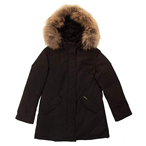 Luxury Inverno Artic Woolrich Black Bambina Wkcps2043 Parka Giubbotto B4dwTxdv