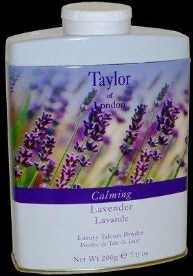 Taylor of London Luxury Talcum Powder for Women, Lavender, 7.0 Ounce by Taylor of London - Lavender Bath Powder