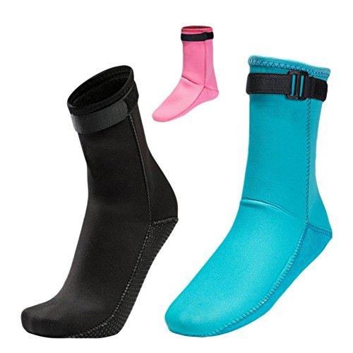 Schwimmen Schnorcheln Wassersport Surfen Anti 3mm Rutsch Meijunter Tauchen Neoprenanzug Warm Socken Stiefel qFnBwvFO