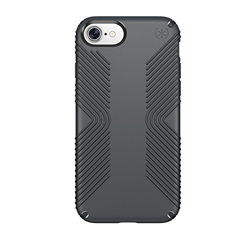 Speck Products 79987-5731 Presidio Grip Cell Phone Case for iPhone 7/6S/6 - Graphite Grey/CHARCOAL - Case Grey