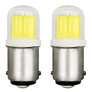 LED Bulbs B15D SBC 2W Small Bayonet Lights Equivalent 20W Halogen Bulb DC 12V Non Dimmable Daylight White 6000K for Home…