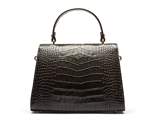 Sagebrown Marrone Croc Bag Sabrina