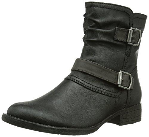 Softline 25466 Damen Kurzschaft Stiefel Schwarz (Black 1)