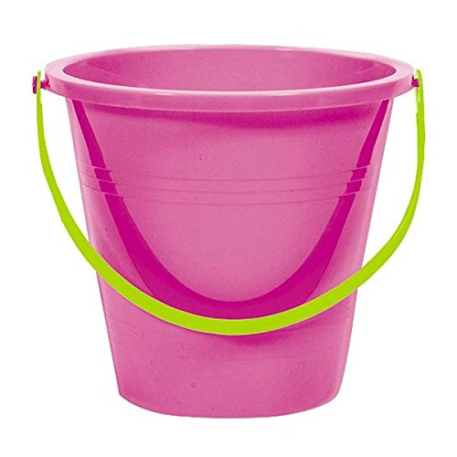 (Amscan 397864.61 Large Round Pail Supplies, Magenta, 6.25