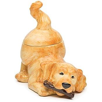 Big Sky Carvers Golden Retriever Cookie Jar