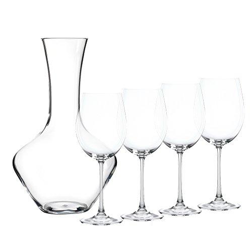 Nachtmann Vivendi Decanter Set, 5-Pack (Riedel Crystal Glass Decanter)