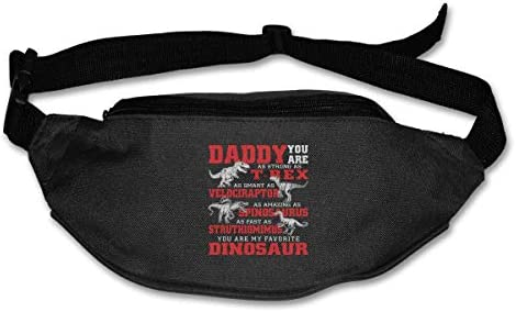 Daddy You Are My Favorite Dinosaur Unisex Outdoors Fanny Pack Bag Belt Bag Sport Waist Pack