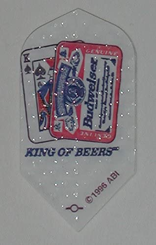 US Darts 3セット(9フライト) BUDWESER、Bud、King of Beers Dimplex スリムダーツフライト- スタイル1
