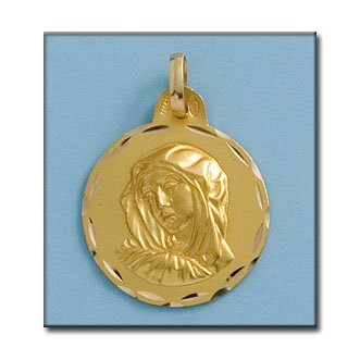 Médaille D'or 18kt Dold'orsa 21mm
