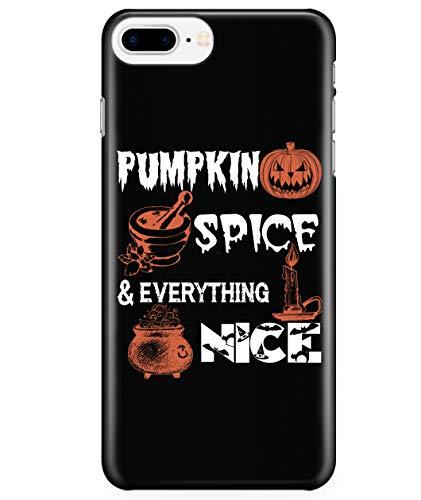 iPhone 7 Plus/7s Plus/8 Plus Case, I Love Halloween Case for Apple iPhone 7 Plus/7s Plus/8 Plus, Pumpkin Spice iPhone Case (iPhone 7 Plus/7s Plus/8 Plus Case - -