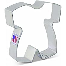 Baby Romper Cookie Cutter by Tunde's Creations - 3.25 Inch - Ann Clark - US Tin Plated Steel