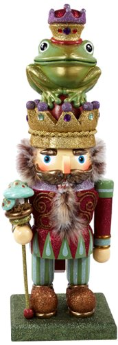 Kurt Adler 28-Inch Hollywood Frog Prince Nutcracker