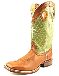 Twisted X Mens Peanut Ruff Stock Cowboy Boot Wide Square Toe