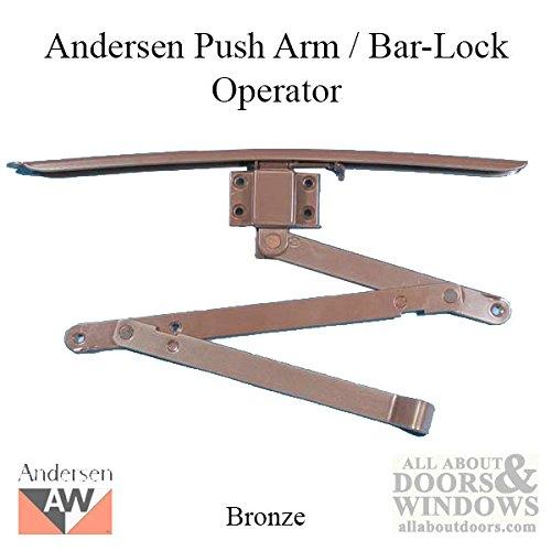 Andersen Push Arm / Bar-Lock Operator - Bronze