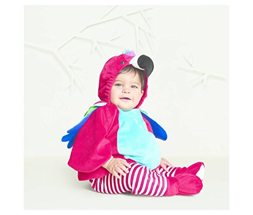 Baby Infant 0-6 Month Parrot Halloween Costume- Leggings and Booties Included]()