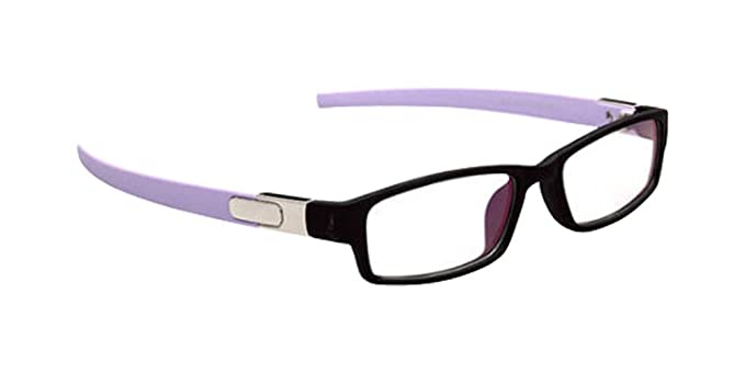 9d23ce0a600 Image Unavailable. Image not available for. Color  Black Purple New Sport  Eyeglass Frames Eyewear Clear ...