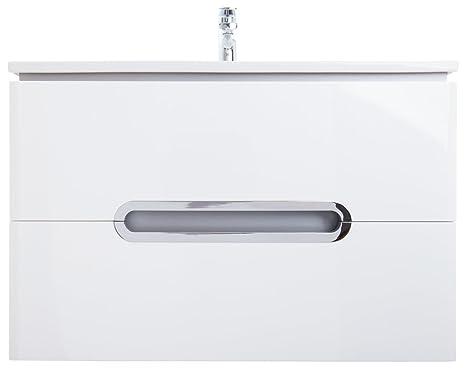 Bagno mobili con binari alto di gamma in ceramica lavabo