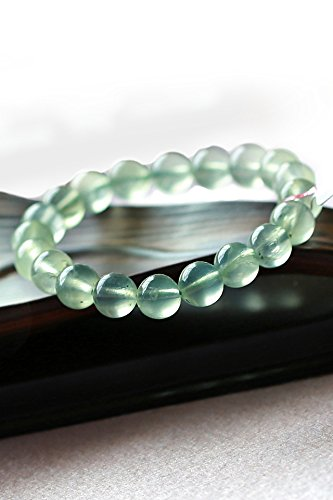 Old Green Jade Bracelet Bangle - Generic Month_old_shrine_?_natural_ice Green_Plum_Stone_ bracelet bangle women girl _jade_airy clean_Crystal_ jewelry hand _string
