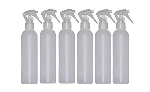 WM  8 oz Natural Refillable, Reusable, Empty Plastic Bottle