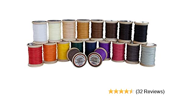 "0.6mm Ritza /""Tiger/"" Thread Many Colors 25M//82ft Leather hand sewing"