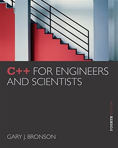 C++ for Engineers and Scientists by Brand: Cengage Learning