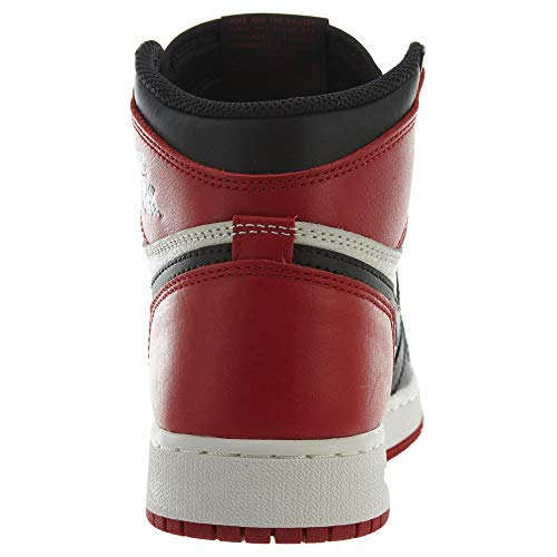 OG Jordan Retro Red High 1 white Kids Black Bred Air Toe B4qBI