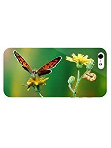 3d Full Wrap Case for iPhone ipod touch4 Animal Butterfly84