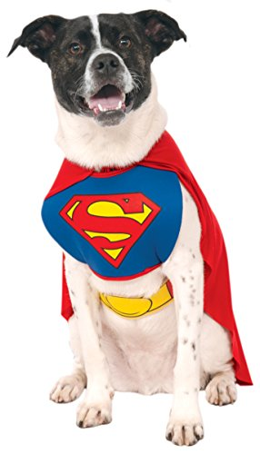 DC Comics Pet Costume, Superman, (Russell From Up Costume For Adults)