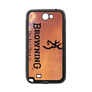 Cool Browning Case Samsung Galaxy Note 2 N7100 TPU Designer Durable Case Cover Protector Bumper